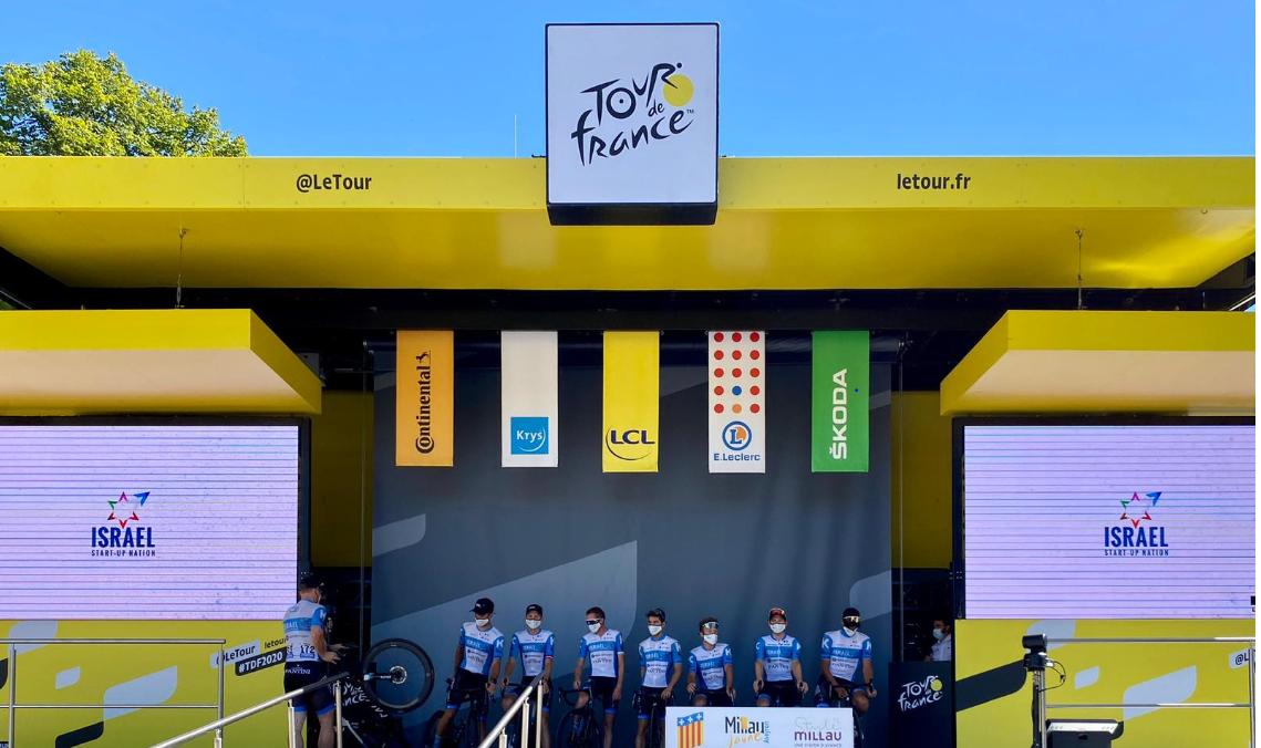 Tactic in de Tour de France