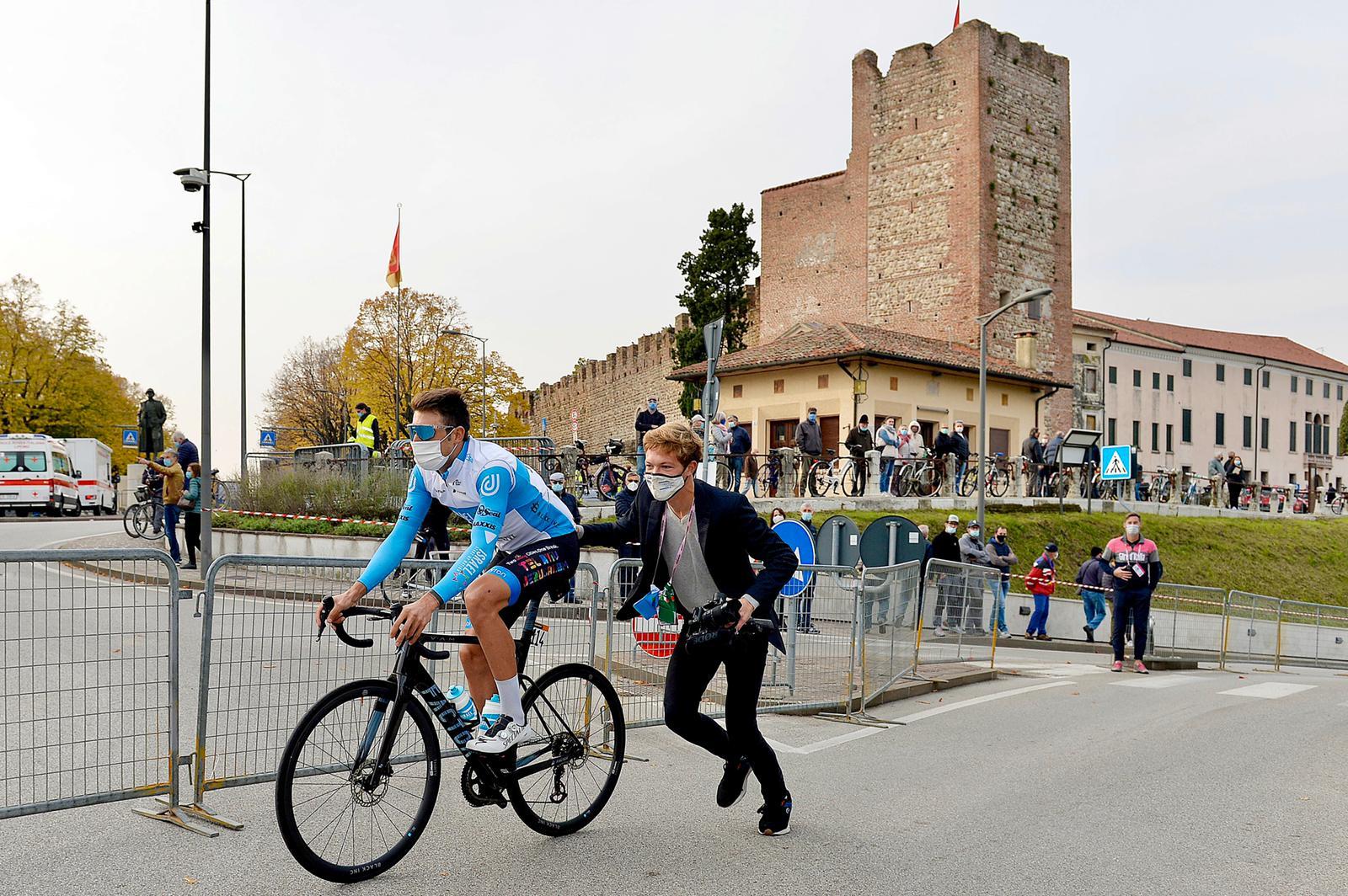Sjors Beukeboom met Tactic in de Giro d'Italia